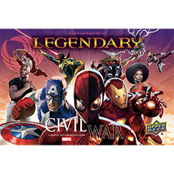 UDMVLDBGCW-MARVEL LEGENDARY CIVIL WAR EXP