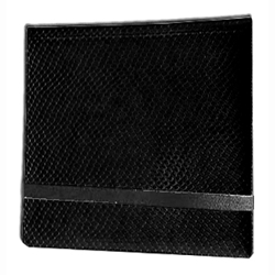 ULGBN12DHB-12 POCKET 3X4 DRAGON HIDE BINDER BLACK