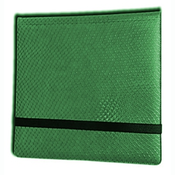 ULGBN12DHG-12 POCKET 3X4 DRAGON HIDE BINDER GREEN