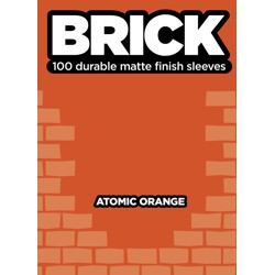ULGBRKORG-BRICK SLEEVES ATOMIC ORANGE