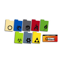 ULGDIV001-LEGION DIVIDERS ICONIC 8-PACK