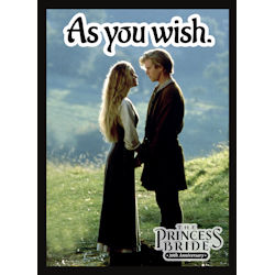 ULGDPAPB305-PRINCESS BRIDE 30TH AN AS YOU