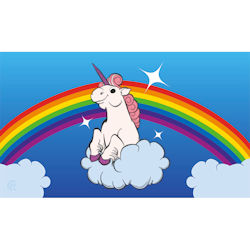 PLAY MAT RAINBOW UNICORN