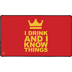 PLAY MAT I KNOW THINGS (RUBBER