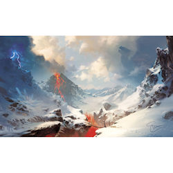 ULGPME144-PLAY MAT LANDS 2018 MOUNTAINS