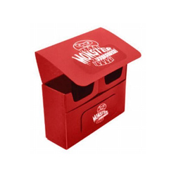 DECK BOX DOUBLE MATTE RED