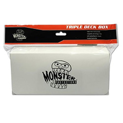 DECK BOX TRIPLE MATTE WHITE