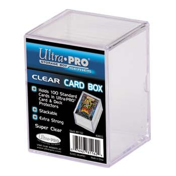 UP100GB-100CT 2PC GAME BOX CLEAR