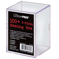 UP110GB-110CT 2PC GAME BOX CLEAR