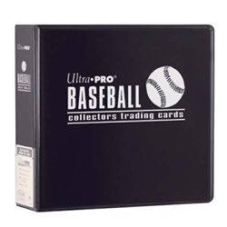 UP3BBK-3''BINDER BASEBALL BLACK