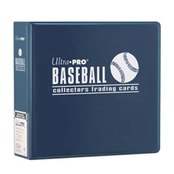 UP3BNA-3''BINDER BASEBALL NAVY BLUE