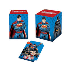 UPDBGJLA-DECK BOX 100+ JUSTICE LEAGUE