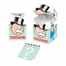 UPDBGMON2-DECK BOX 100+ MONOPOLY JAIL / CHANCE