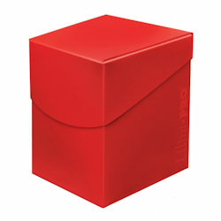 UPDBPECAR-DECK BOX 100+ ECLIPSE APPLE RED