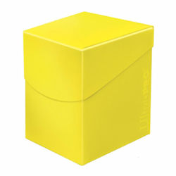 UPDBPECLY-DECK BOX 100+ ECLIPSE LEMON YELLOW