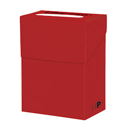 UPDBSOR-DECK BOX SOLID RED