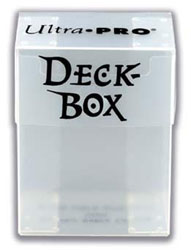 UPDBW-DECK BOX SOLID CLEAR