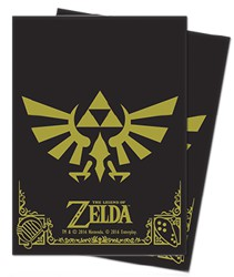 UPDPGLOZBG-LEGEND OF ZELDA BLAK & GOLD DP