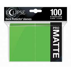UPDPMAEC1LG-SOLID DP ECLIPSE MATTE 100CT LIME GREEN