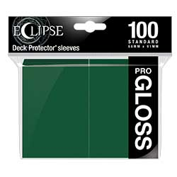 UPDPSOEC1DG-SOLID DP ECLIPSE GLOSS 100CT FOREST GREEN