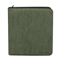 UPPBPSPE-12 POCKET PRO BINDER PREMIUM SUEDE EMERALD (GREEN)
