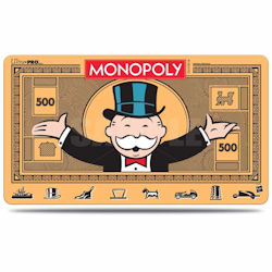 UPPMGMON3-PLAY MAT MONOPOLY V3 MONEY