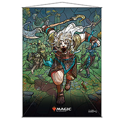 WALL SCROLL M:TG STAINED GLASS AJANI
