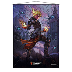 WALL SCROLL M:TG STAINED GLASS CHANDRA