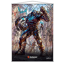 WALL SCROLL M:TG STAINED GLASS KARN