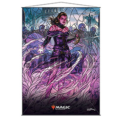 WALL SCROLL M:TG STAINED GLASS LILIANA