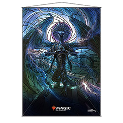 WALL SCROLL M:TG STAINED GLASS NICOL BOLA