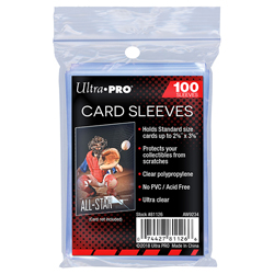 USSCS-CARD SLEEVES STOR SAFE 0100CT