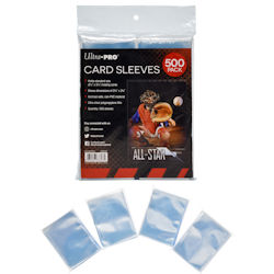 USSCS500-CARD SLEEVES STOR SAFE 0500CT