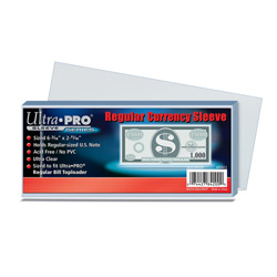 USSCSCR-CURRENCY SLEEVE REGULAR