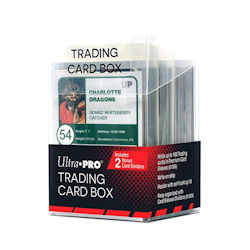 USSCSTCB-TRADING CARD BOX W/ DIVIDERS