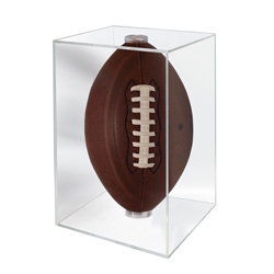USSFDUV-FOOTBALL CUBE UV PROTECTED DISPLAY