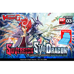 VGEGBT03-CARDFIGHT VANGUARD G BOOSTER PACK 3: SOVEREIGN STA