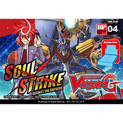 VGEGBT04-CARDFIGHT VANGUARD G BOOSTER PACK 4: SOUL STRIKE A