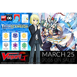 VGEGBT06-CARDFIGHT VANGUARD G BOOSTER PACK 6: TRANCENSION O