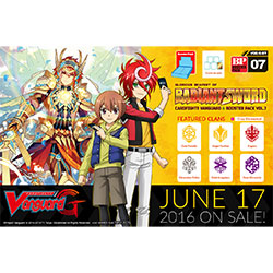 VGEGBT07-CARDFIGHT VANGUARD G BOOSTER PACK 7: GLORIOUS BRAV