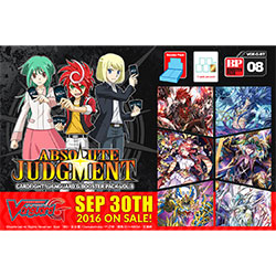 VGEGBT08-CARDFIGHT VANGUARD G BOOSTER PACK 8: ABSOLUTE JUDG
