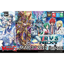 VGEGCHB01-CARDFIGHT VANGUARD CHARACTER BOOSTER 1: TRY3 NEXT