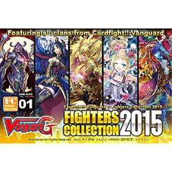 VGEGFC01-CARDFIGHT VANGUARD FIGHTERS COLLECTION 1: FIGHTERS