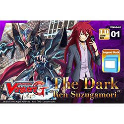 VGEGLD01-CARDFIGHT VANGUARD LEGEND DECK 1: THE DARK REN SUZ