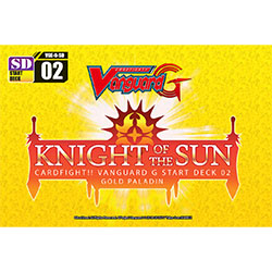 VGEGSD02-CARDFIGHT VANGUARD G START DECK: KNIGHT OF THE SUN