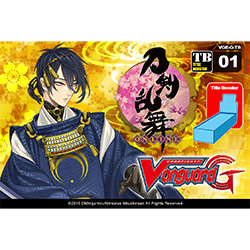 VGEGTB01-CARDFIGHT VANGUARD G TECHNICAL BOOSTER: TOUKEN RAN