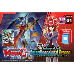 VGEGTD01-CARDFIGHT VANGUARD G TRIAL DECK 1: AWAKENING OF TH
