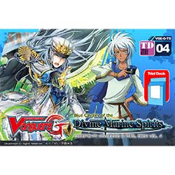 VGEGTD04-CARDFIGHT VANGUARD G TRIAL DECK 4: BLUE CAVALRY OF