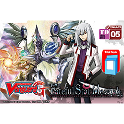 VGEGTD05-CARDFIGHT VANGUARD G TRIAL DECK 5: FATEFUL STAR ME