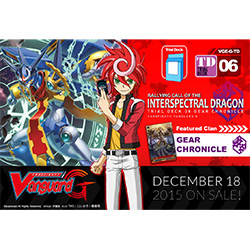 VGEGTD06-CARDFIGHT VANGUARD G TRIAL DECK 6: RALLYING CALL O